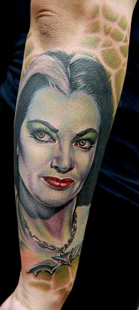 Tattoos - Lily Munster