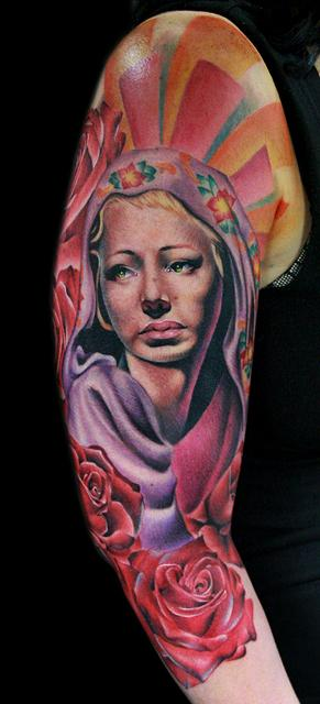 Tattoos - mary
