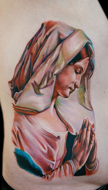 Tattoos - Mary Praying