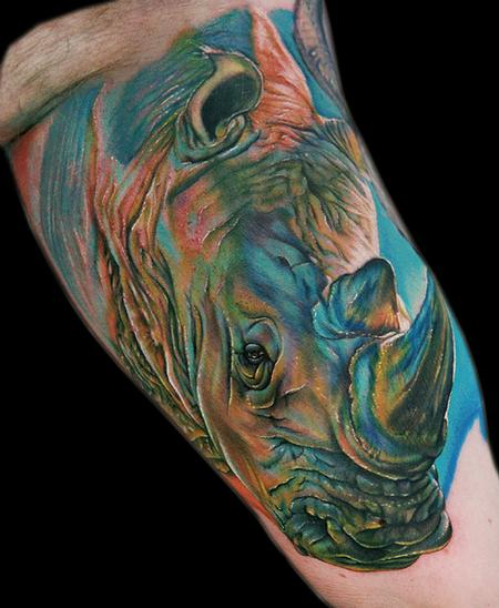 Tattoos - A Rhino