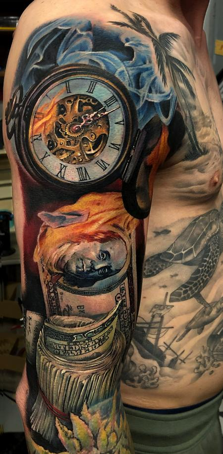 Tattoos - Time is money - 142729