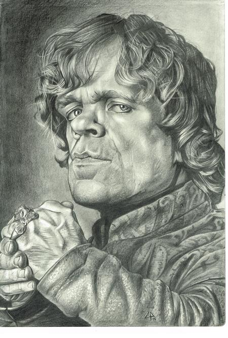 Tattoos - Tyrion Lannister Sketch