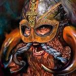 Tattoos - The unknown warrior-Oil Painting