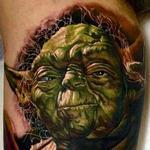 Tattoos - Yoda Tattoo
