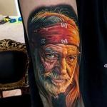 Tattoos - Color Willie Nelson Portrait