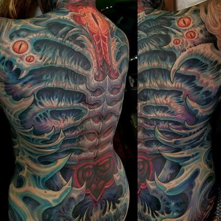 Tattoos - Back Bio  - 125079