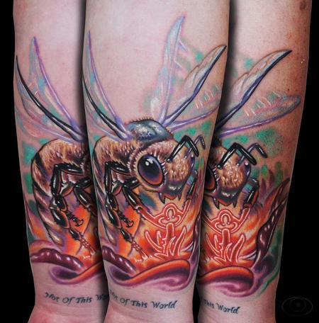Tattoos - Bee Key - 123804