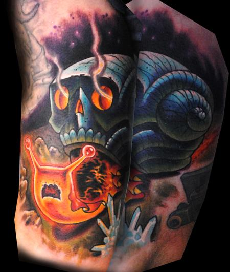 Tattoos - Lava Snail - 124886