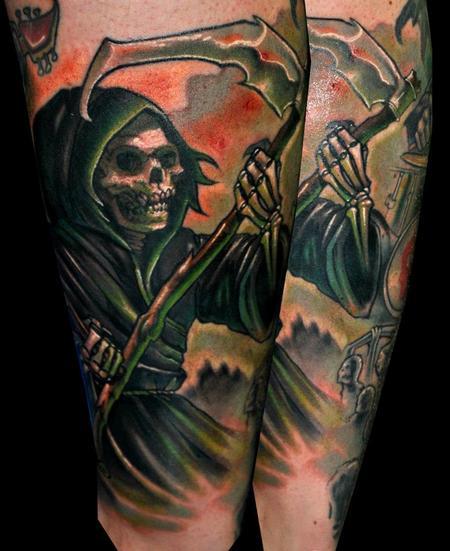 Tattoos - reaper - 124885