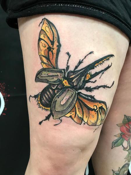 Tattoos - Beetle  - 139693