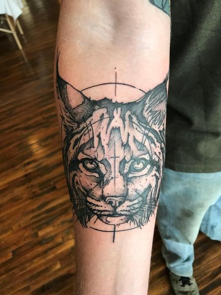 Tattoos - Bobcat  - 134356