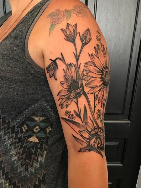 Tattoos - Sunflowers  - 134352