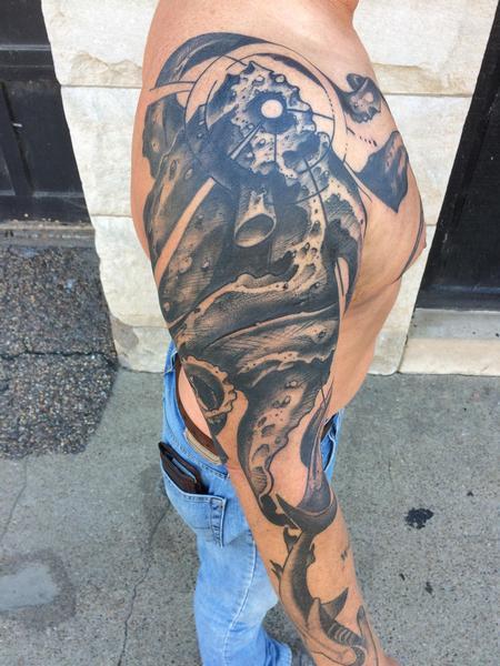 Tattoos - Octopus  - 122727