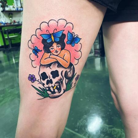 Tattoos - Butterfly Girl - 142733