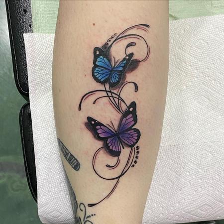 Tattoos - Butterflies - 142739