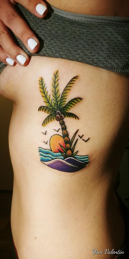 Tattoos - Palm Tree - 134158
