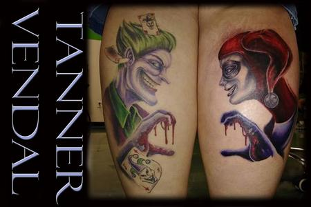 Tattoos - Joker & Harley Quinn - 130991