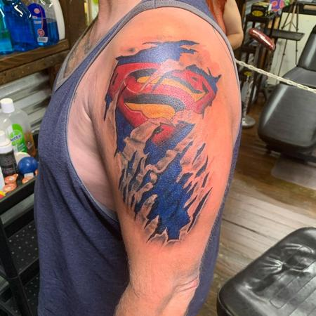 Tattoos - SuperMan  - 142743