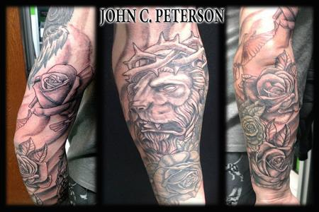 Tattoos - Black & Grey Friday Sleeve!  - 131304