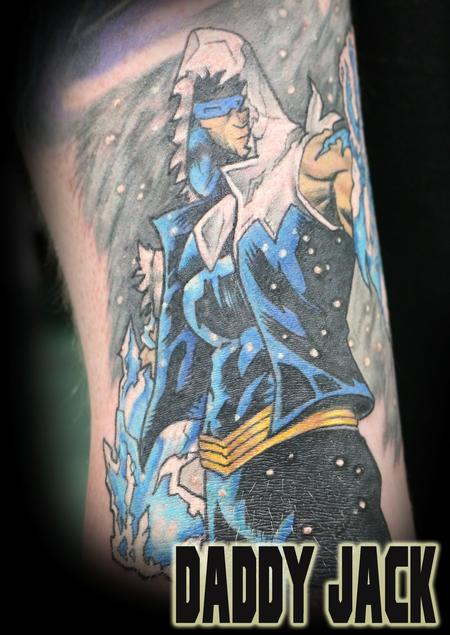 Tattoos - Commander Cold  - 127453
