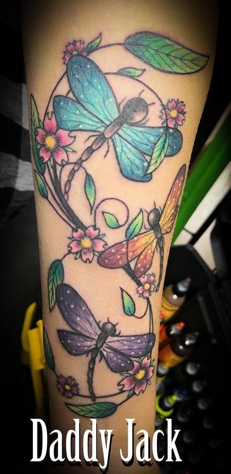 Tattoos - Dragonflies - 137238