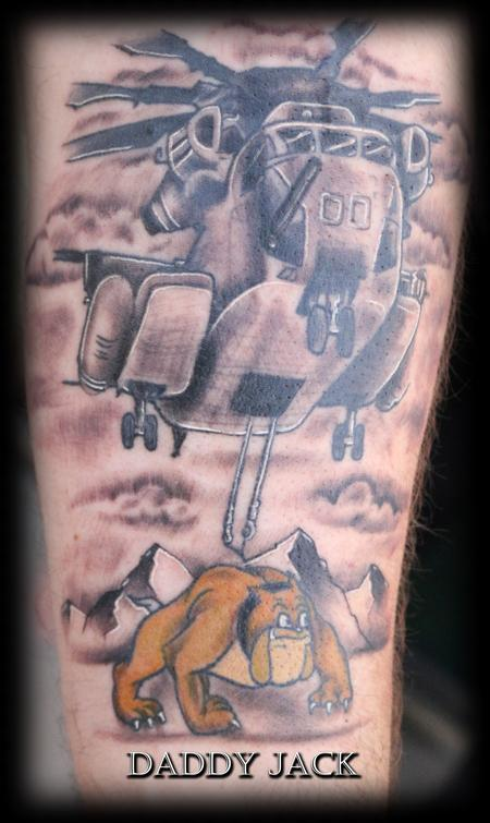 Tattoos - Devil_Dog_Helicopter_Daddy_Jack - 129137