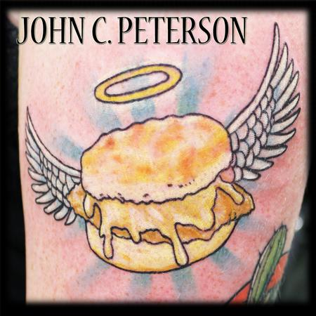 Tattoos - Honey Butter Chicken Biscuit Angel  - 130872
