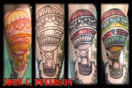 Tattoos - Teddy on the rise - 130337