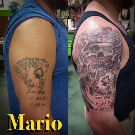 Tattoos - Ace of Spades/ Skull  - 137242