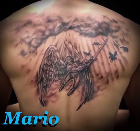 Tattoos - Angel guard - 136056