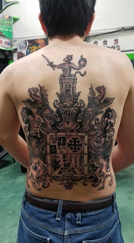 Tattoos - Family Crest - 136057