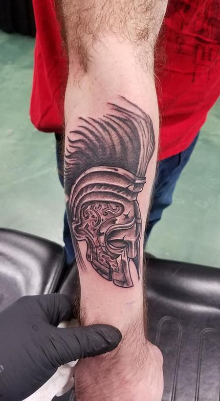 Tattoos - Spartan Helmet - 136058