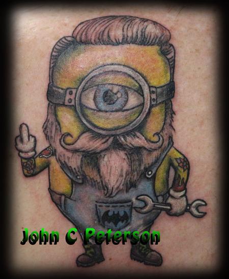 Tattoos - Minion_John_C_Peterson - 128566