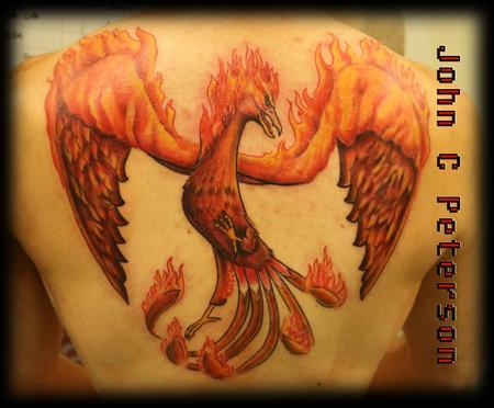 Tattoos - Phoenix_John_C_Peterson - 128922