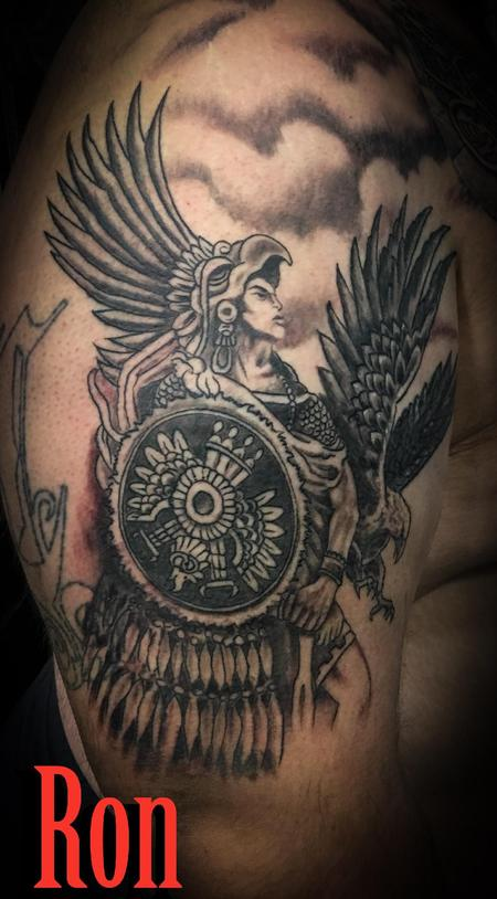 Tattoos - Aztec Warrior - 137251