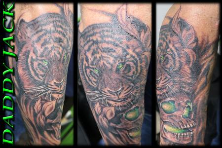 Tattoos - Soul Sucking Tiger - 130803