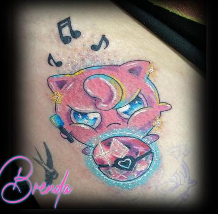 Tattoos - Angry Jigglypuff  - 143267