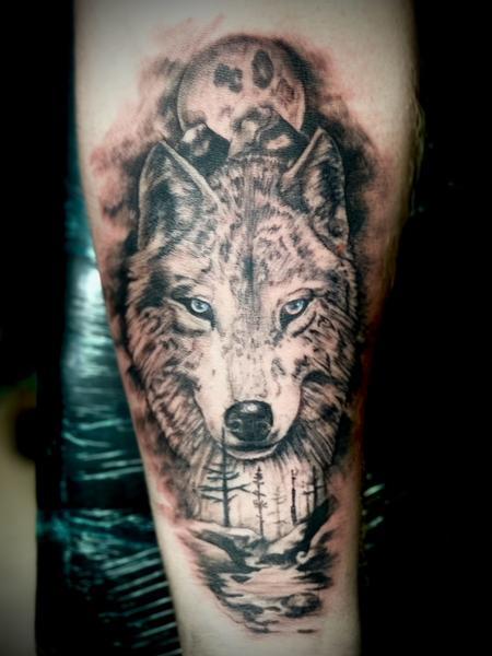 Tattoos - Wolf - 142966