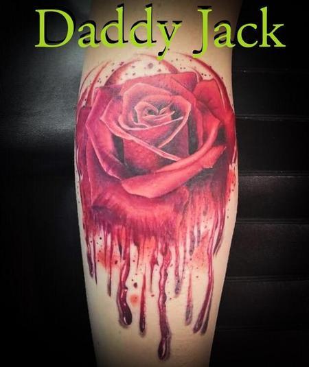Tattoos - Bleeding Rose - 138038