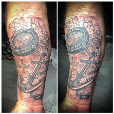 Tattoos - Navy Map - 139173