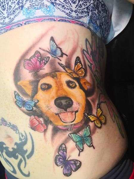 Tattoos - Pet Portrait - 139867