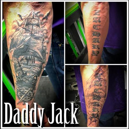 Tattoos - Ship Cover Up - 138502