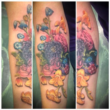 Tattoos - Floral - 139871