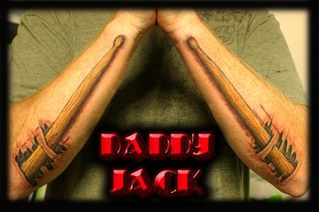 Tattoos - Drumsticks - 131858