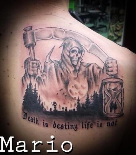 Tattoos - Reaper - 138045