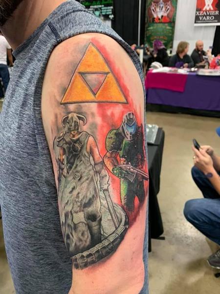 Tattoos - Video Game Half Sleeve - 139187
