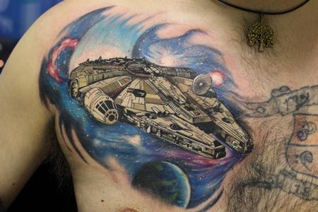 Tattoos - Millennium Falcon - 126468