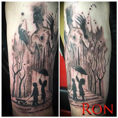 Tattoos - Burning Forest - 137791