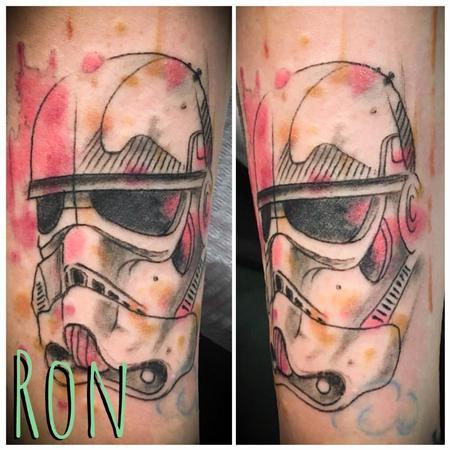 Tattoos - Watercolor Stormtrooper - 137802
