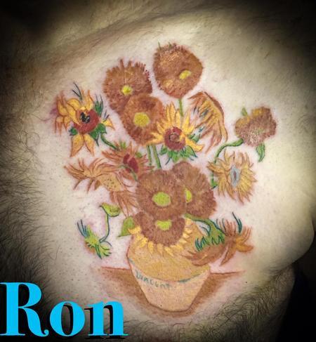 Tattoos - Vincent Van Gogh Painting - 137805